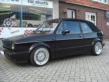 Lenso BSX Felgen 7,5x16 + 9x 16 Alufelgen Golf Cabrio GTI Typ 17, 155 ,RS-Style