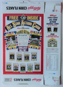 1992 Kelloggs Card Box Seaver Schmidt Palmer Carew Stargell - FLASH SALE