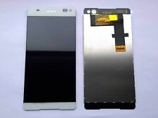Schermo LCD Bianco Display & Touch Digitizer Unità Per SONY Xperia C5 Ultra E5506