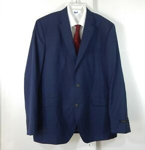 NEW TED BAKER endurance jacket blazer sport coat 100% wool blue check 46R