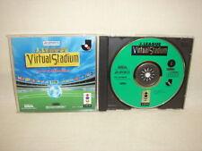 J LEAGUE VIRTUAL STADIUM 3DO Real Panasonic Import Japan Video Game 3d
