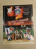 "McCoy Stadium All Star Game 2004 Celebrity Homerun Challenge Program 15""x12"""