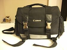 Camera and Gadget Bag Black  For Canon DSLR Camera, Lenses and Accessories