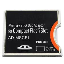 AD-MSCF1 Memory Stick Duo Adapter für Sony Compct Flash
