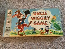Milton Bradley UNCLE WIGGILY Board Game 1954