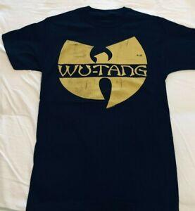 WU-TANG  Wu Tang LOGO T-Shirt Official Merch, 100% Genuine,Australian Stock