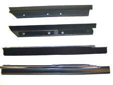 1983-1993 Ford Mustang convertible rear quarter window sweeps, belt line molding