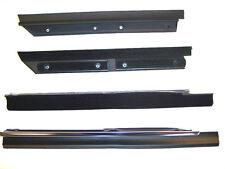 1983-1993 Ford Mustang convertible rear quarter window sweeps, belt line molding