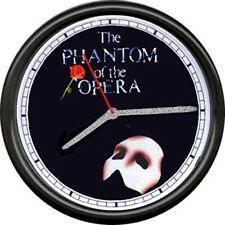 Phantom Of The Opera Broadway Theater Show Poster Art Sign Actor Wall Clock