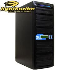 ProDuplicator 1-7 Burner 24X CD DVD Lightscribe Duplicator Labeling Publishing