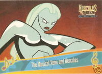 The Musical Hercules and Xena  M5 Titans Song insert trading card