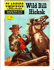 Classics Ill 121: (1954): Will Bill Hickok: Original: Free to combine- in Fair