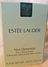 Estee Lauder New Dimension Firm + Fill eye System .34 oz Total NIB $79 Value