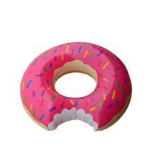 MEGA Schwimmring Schwimmreifen DONUT mit BISS ca. 120cm für Pool in Pink