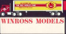 World's Fair '82 Knoxville, TN Winross Truck