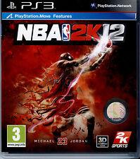 NBA 2K12 PS3 NUOVO