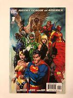 Justice League Of America #1c Turner Variant DC Comics (2006) NM- 9.2