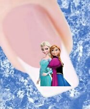 20 Nail Tattoos Frozen Eiskönigin Elsa und Anna 379 Sticker Nailart