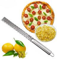 Silver Stainless Lemon Cheese Vegetable Zester Grater Peeler Kitchen Use