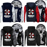 Resident Evil Umbrella 3D Printing Cosplay Hoodie Men/'s Sweatshirt Coat Pullover