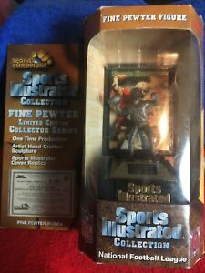 JOE MONTANA SPORTS CHAMPIONS Sports Illustrated HAND-CRAFTED FINE PEWTER FIGURE