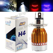 H4 900LM 9W Flash LED Motorcycle Bike/Moped/ATV Headlight Bulb Fog Light 12V-80V