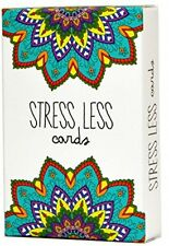 Stress Less Cards - Effective Self Help For Anxiety Relief And Relaxation With