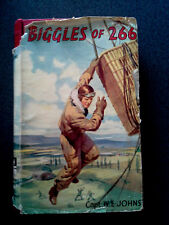 BIGGLES OF 266 BOOK HB DW 1ST EDITION W E JOHNS