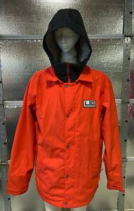 Lib Tech Snowboard Jacket - Mens XXL - Orange - Ski Jacket - Winter Snow Coat