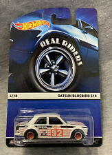 New Listing2014 Hot Wheels Real Riders Datsun Bluebird 510!