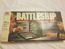 BATTLESHIP  THE Vintage 1990 Classic Naval Combat Board Game Milton Bradley