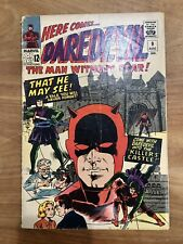 Rare Daredevil #9 from Marvel Comics 1965 P-Fr condition? Stan Lee