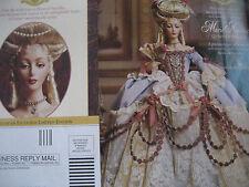 Franklin Heirloom MIINT Marie Antoinette Doll Magazine Ad Advertisement ONLY