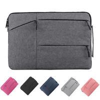 Laptop Bag Notebook Cover Sleeve Case Shockproof For MacBook HP Dell Lenovo