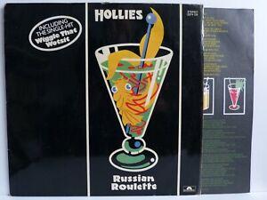 The Hollies – LP + Beileger – Russian Roulette / Polydor 2374 124 von 1976