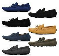 New Mens casual Moccasin Loafer slip on comfort suede boats Driving Shoes 146