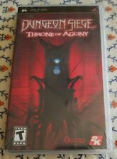 """Dungeon Siege: Throne of Agony (Sony PSP, 2006)  """"NEW"""" ***AMAZING GAME***"""