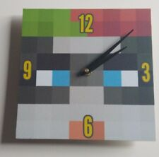 wooden Minecraft style Harley quinn  Handmade Wall Clock Gift Kids Bedroom