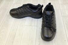 Dickies Apex Slip Resistant Work Shoes, Men's Size 8.5, Black