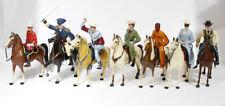 LOT 7 1950'S VINTAGE TOYS WESTERN COWBOYS & HORSES HARTLAND?