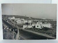 Vintage Rp Postcard Hotel RAF Estepona Malaga Spain Rppc Real Photo Posted 1960