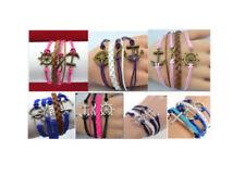 Infinity Alloy Fashion Bracelets