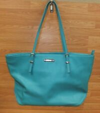 Nine West Large Teal Women's Purse / Bag With Multiple Pockets Inside **READ**