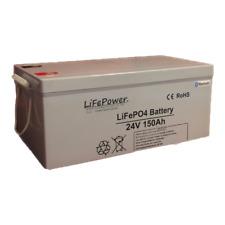 Deep cycle Bluetooth Lithium Leisure battery, .24v 150Ah. LiFePo4