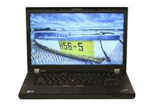 """Lenovo Thinkpad T510, 15.6"""" Laptop, Webcam, Core i5, 6/8Gb, HDD or SSD, Win 7/10"""
