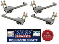 FORD FALCON XR XT XW XY FRONT & REAR OUTER DOOR HANDLES X 4 GT HO GS