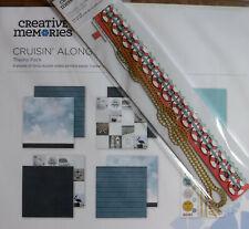 "Creative Memories Set: ""Cruisin Along"" 12x12 paper, stickers, & embellishment pk"