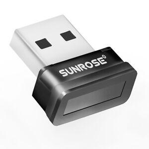 USB Fingerprint Scanner Sensor Dongle Modul Reader 360 ° Touch für Windows PC