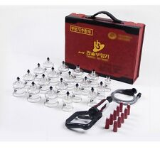 [HANSOL] Genuine New 19PCS Cups Massage Professional Cupping Vacuum Therapy SET