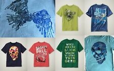NWT GAP Boys Favorite Graphic Tee T-Shirt Tees Football Skull Basketball Bear